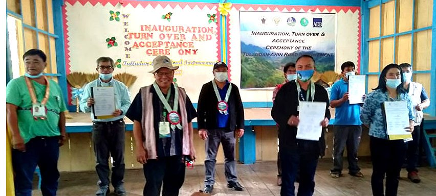 Inauguration of 4.4km rural infrastructure in Ifugao